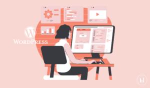 WordPress interface for beginners