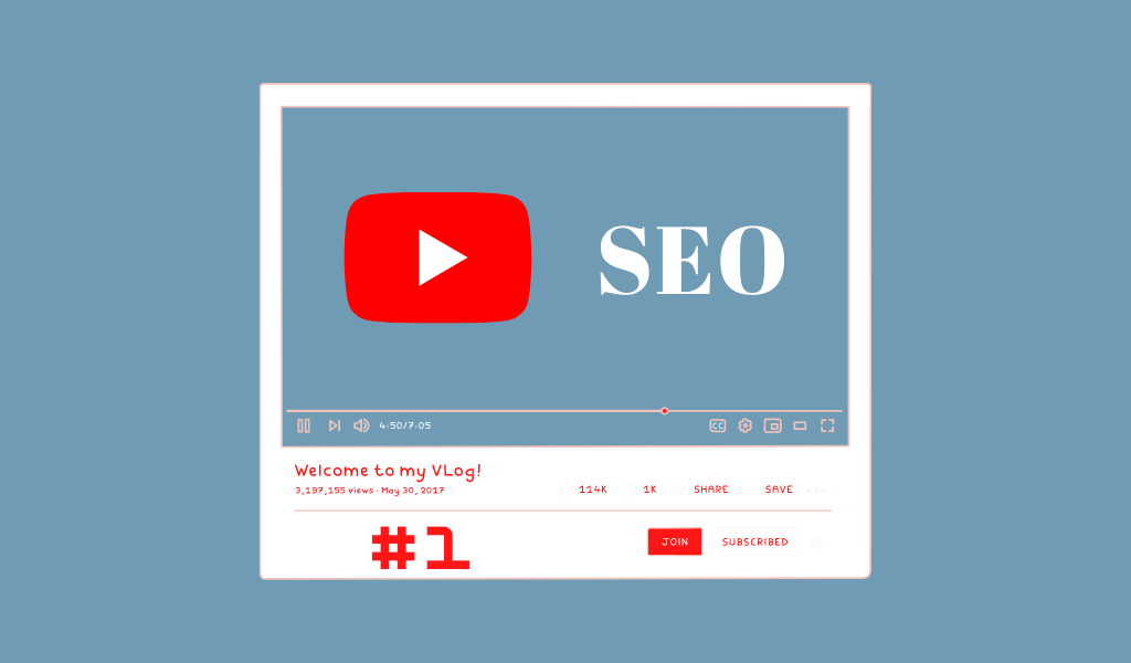 YouTube SEO article 1 - Keywords research